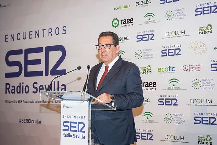 I Encuentro SER Economía Circular. Antonio Pulido, presidente de Fundación Cajasol