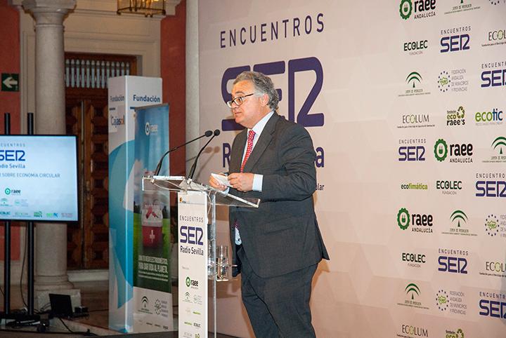 I Encuentro SER Economía Circular. Antonio Yélamo, director regional de la Cadena SER Andalucía y Radio Sevilla