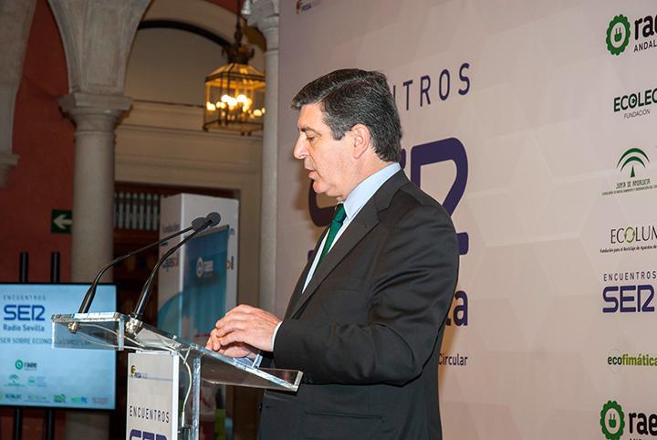 I Encuentro SER Economía Circular. Luis Moreno, director general de Ecolec