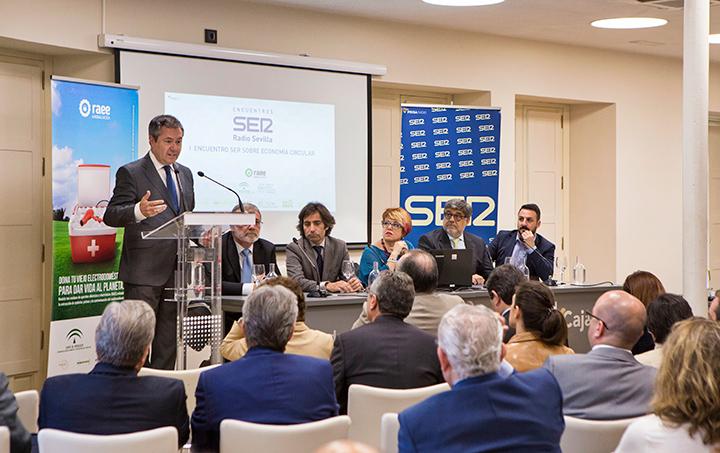 I Encuentro SER Economía Circular. Jornada Técnica. Juan Espadas, alcalde de Sevilla