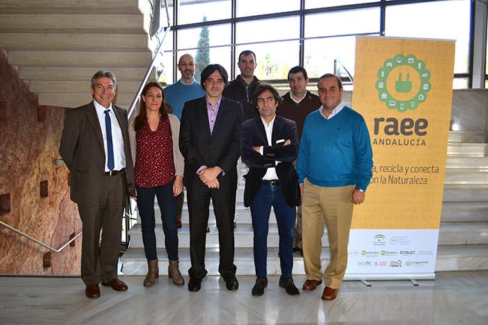 Comisión de seguimiento de RAEE Andalucía