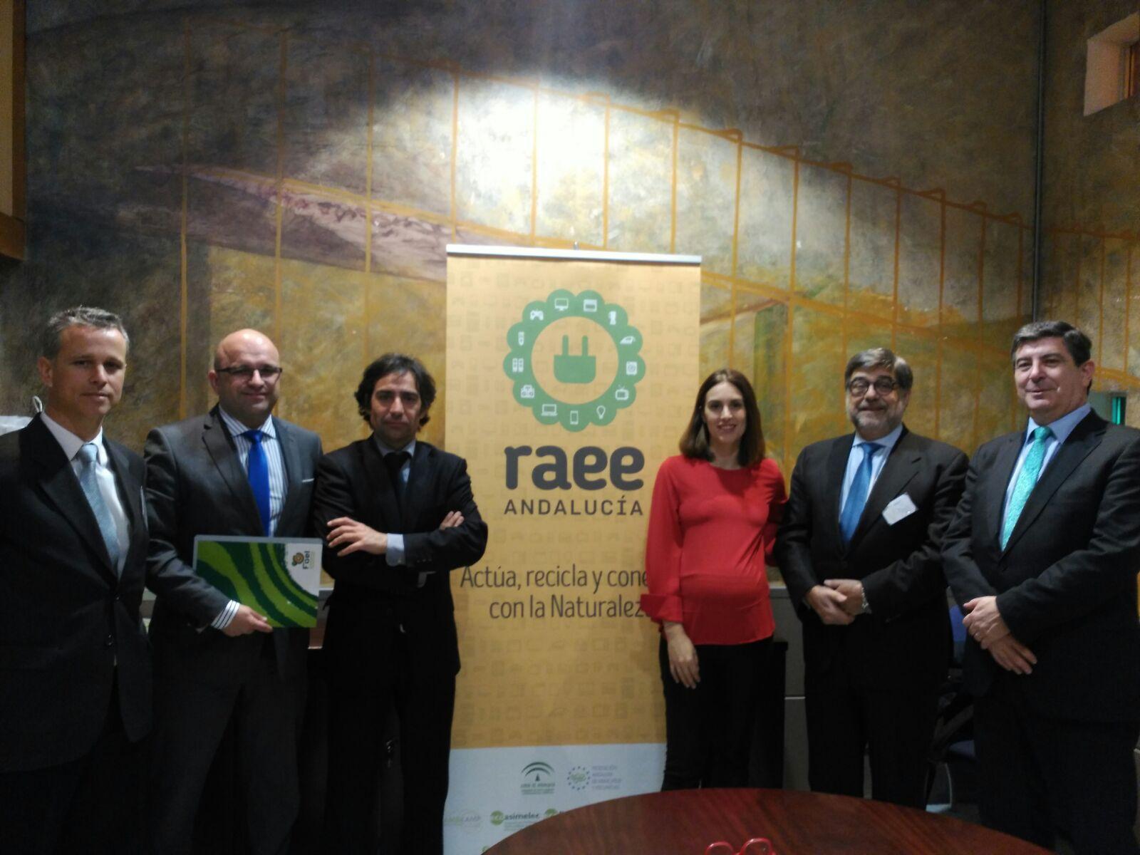 Firma del convenio entre FAEL, ERP, Ecolec y Ecoasimelec.
