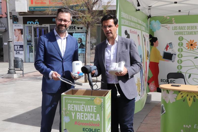 #GreenWeek19 de Fundación Ecolec en Granada