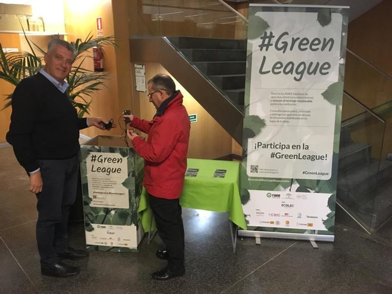 #GreenLeague Ecolec Emasesa
