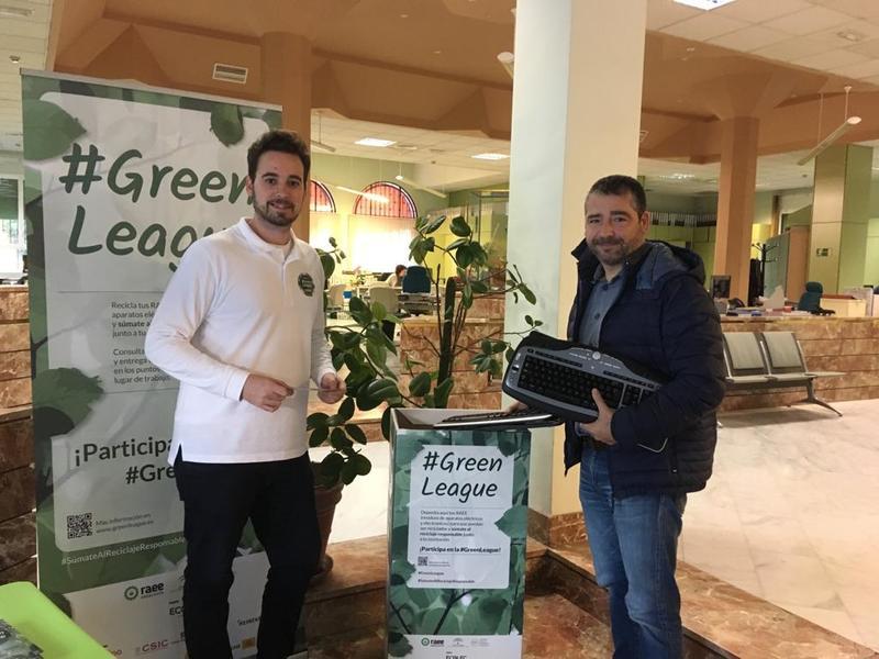 #GreenLeague Ecolec en Autoridad Portuaria de Sevilla