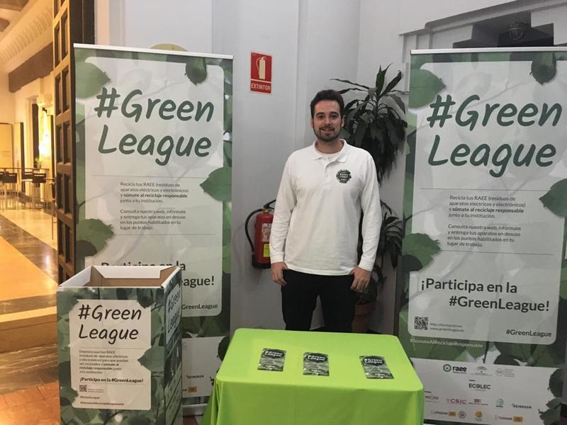 #GreenLeague Ecolec en Casa de la Ciencia