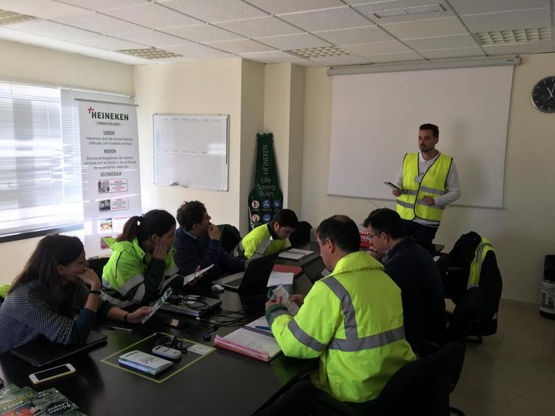#GreenLeague Ecolec en HEINEKEN Fábrica Jaén