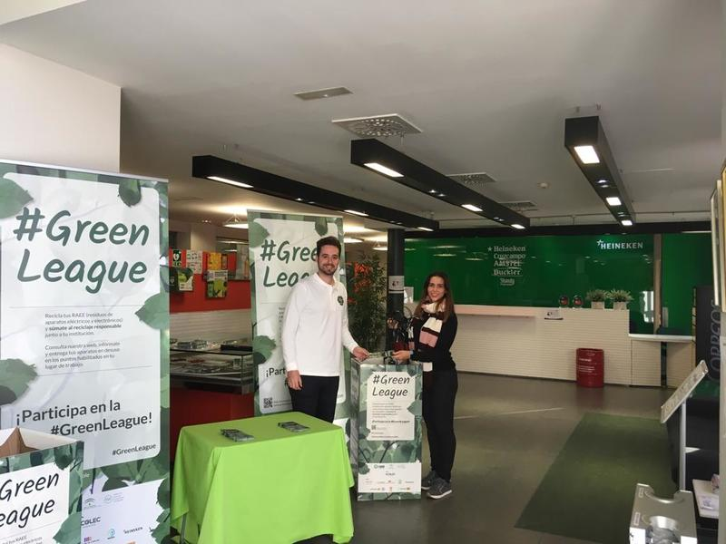 #GreenLeague Ecolec en HEINEKEN Oficina Sevilla
