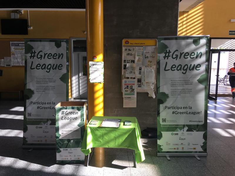 #GreenLeague Ecolec en Lipasam