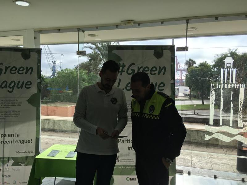 #GreenLeague Ecolec en Puerto de Sevilla