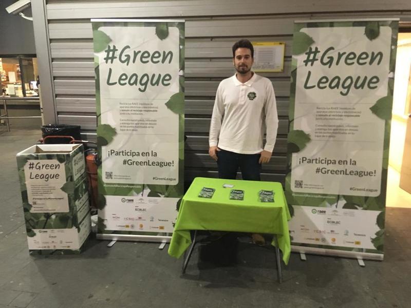 #GreenLeague Ecolec en Tussam