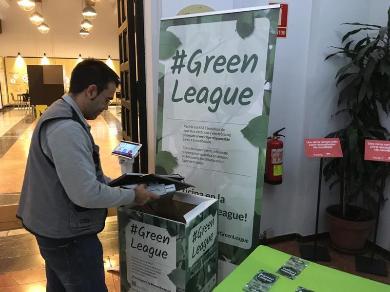 #GreenLeague en Casa de la Ciencia
