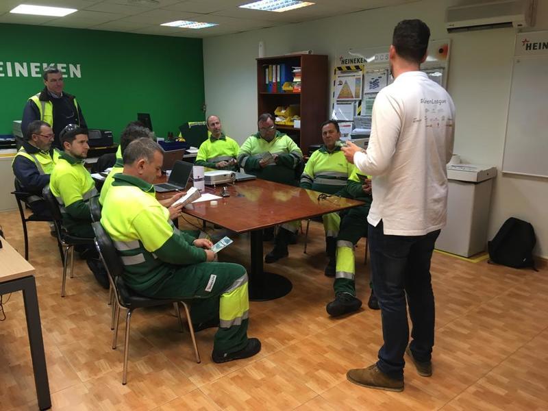 #GreenLeague en fábrica Heineken Jaén