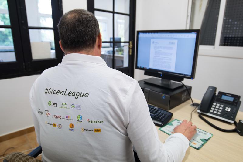 #GreenLeague Ecolec equipo Casa de la Ciencia