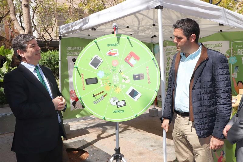 #GreenWeek19 de Fundación Ecolec en Almería