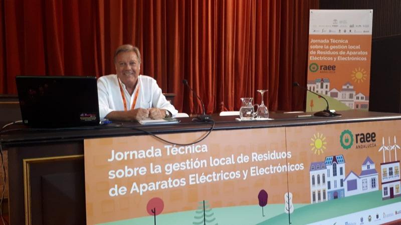 Jornadas Técnicas RAEE Pilas (Sevilla), Leandro Sequeiros