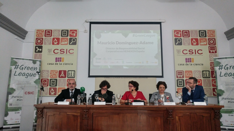 Presentación #GreenLeague Fundación Ecolec. Mauricio Domínguez-Adame, director de Responsabilidad Social Corporativa en HEINEKEN España