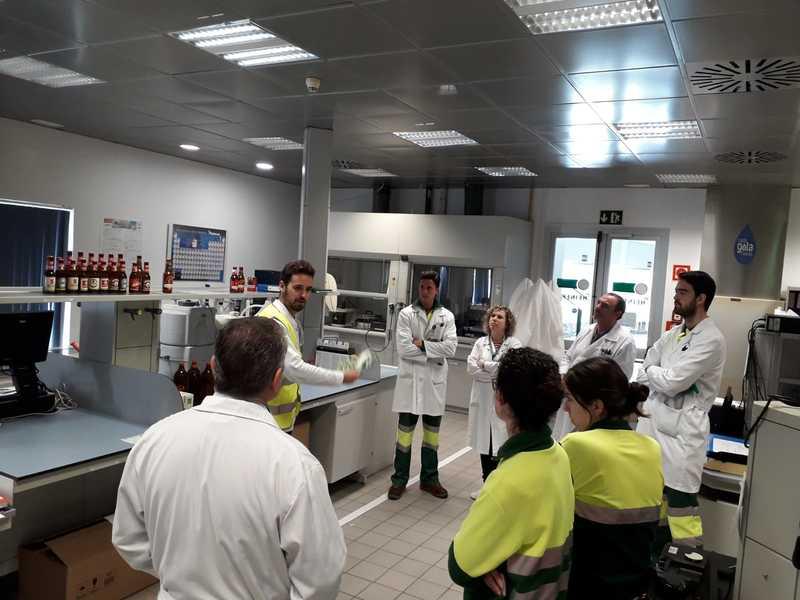 Punto informativo #GreenLeague de Ecolec en HEINEKEN Fábrica Sevilla