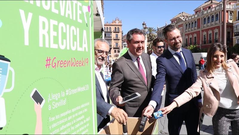 #GreenWeek19 de Fundación Ecolec en Sevilla