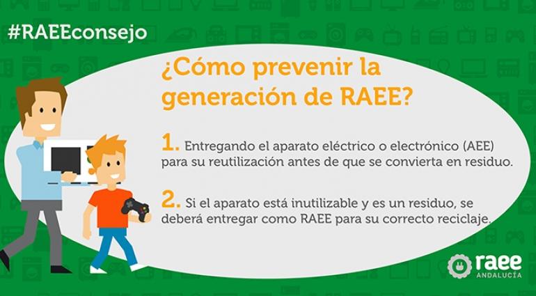 #RAEEConsejo: ¿Cómo prevenir la generación de RAEE?