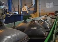 Visita a la planta de reciclaje de Recilec.
