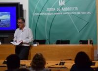 Jorge Molina durante su ponencia.