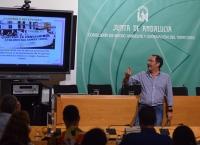 José María Montero durante su ponencia.