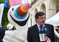 Luis Moreno, director general de Ecolec, durante la #GreenWeek