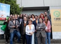 Foto de familia de los asistentes al II Taller de información ambiental