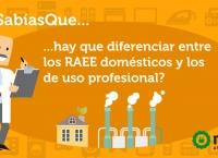 Sabías qué hay diferencias entre los RAEE domésticos y los comerciales